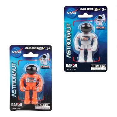 Daron Space Adventure NASA Astronaut Figure Set of 2