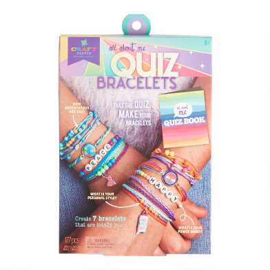 Craft-Tastic All About You Quiz Bracelet Craft Kit