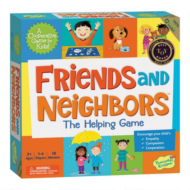 Peaceable Kingdom Friends and Neighbors Board Game