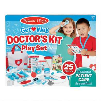Melissa & Doug Get Well Doctor's Play Set