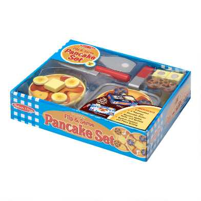 Melissa & Doug Flip and Serve Pancake Play Set
