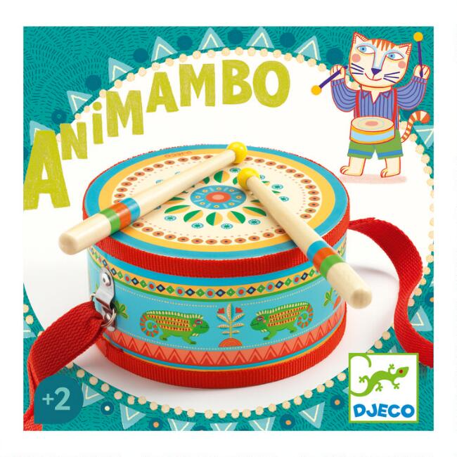 Djeco Animambo Hand Drum Musical Toy