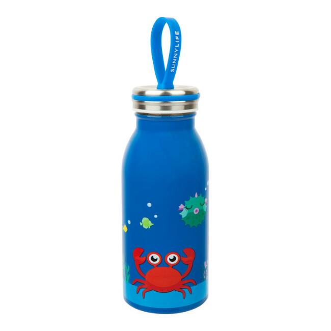 Sunnylife Crabby Insulated Stainless Steel Water Bottle