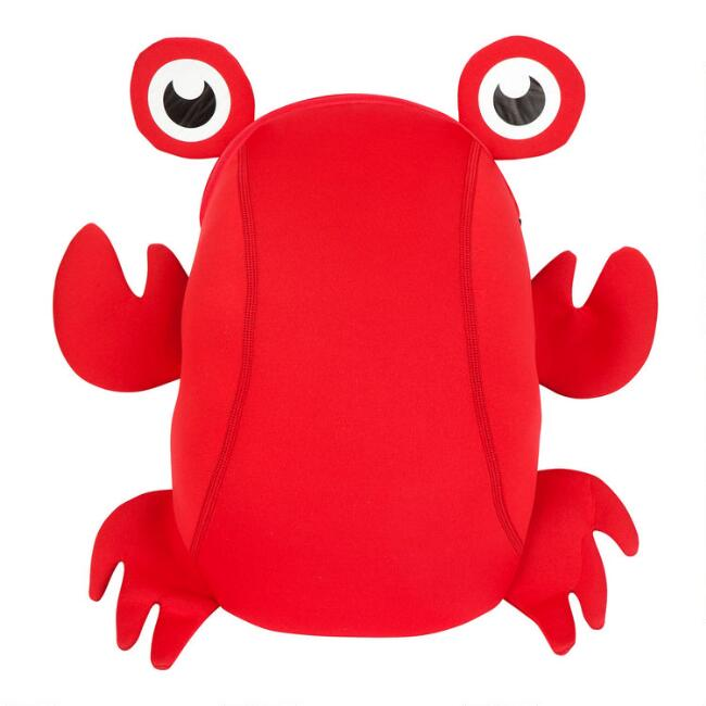 Sunnylife Red Neoprene Crab Kids Backpack