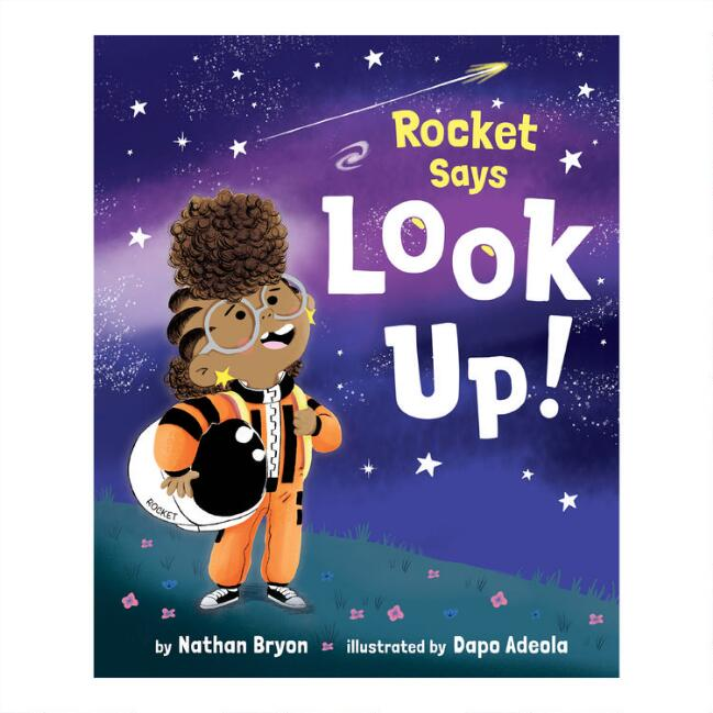 Rocket Says Look Up Book