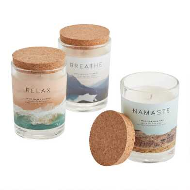 Meditative Filled Jar Candle