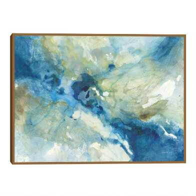 Slipstream by Danhui Nai Framed Canvas Wall Art