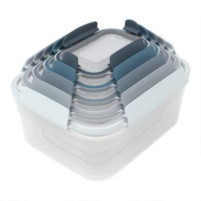 Joseph Joseph Blue Nest Lock 10 Piece Container Set