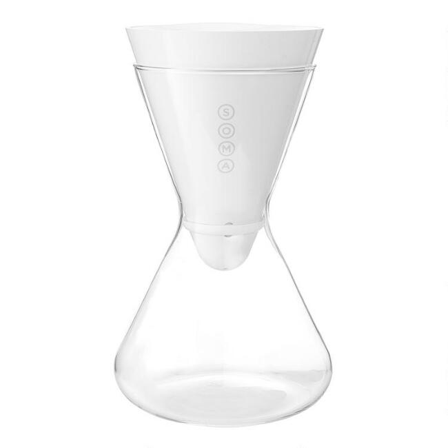 Soma Glass 6 Cup Water Filtration Carafe
