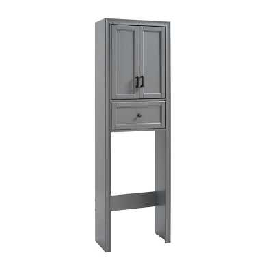 Wood Harper Space Saver Bathroom Cabinet with Drawer
