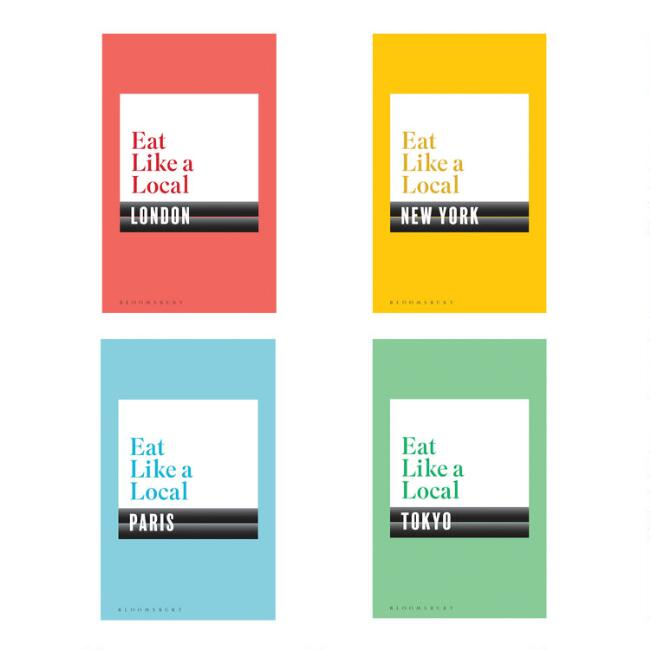 Eat Like a Local Travel Guides Set of 4