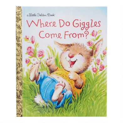 Where Do Giggles Come From Little Golden Book