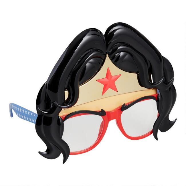 Sun-Staches Wonder Woman Costume Glasses