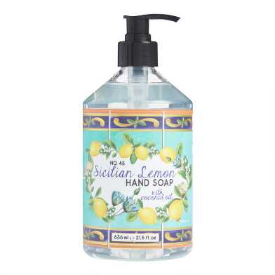 Sicilian Lemon With Coconut Oil Liquid Hand Soap