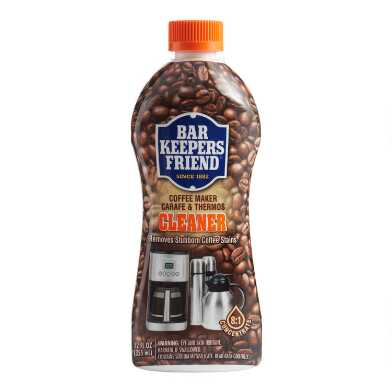 Bar Keepers Friend Coffee Maker Carafe and Thermos Cleaner