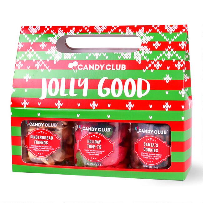 Candy Club Jolly Good Candy Gift Set 3 Pack