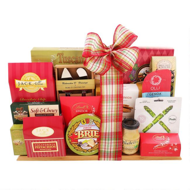 Deluxe Cutting Board Holiday Gift Set