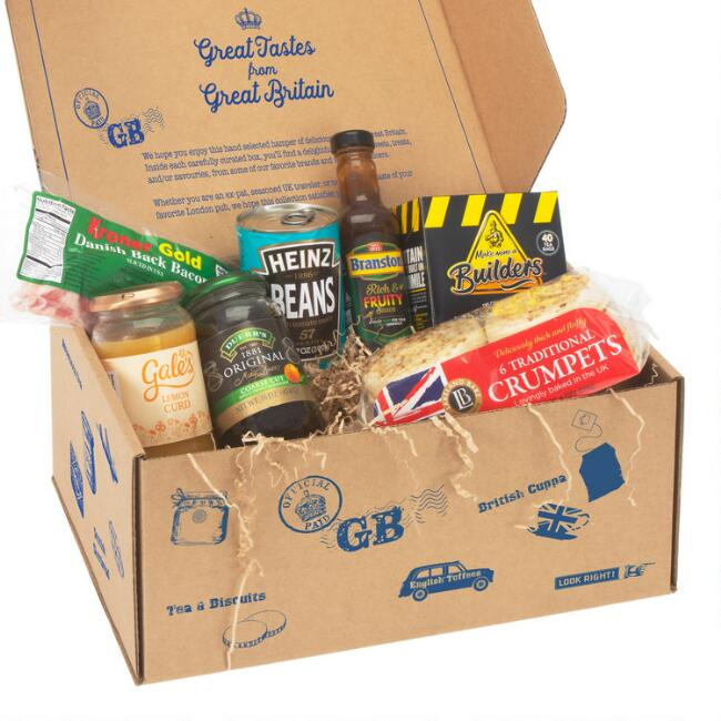 British Breakfast Food Gift Box