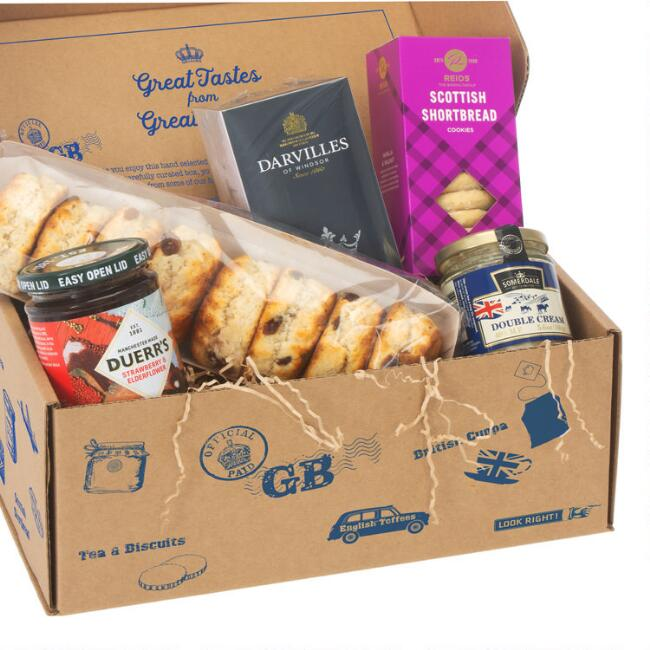 British Afternoon Tea Food Gift Box