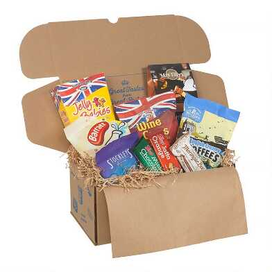 British Confectionery Food Gift Box