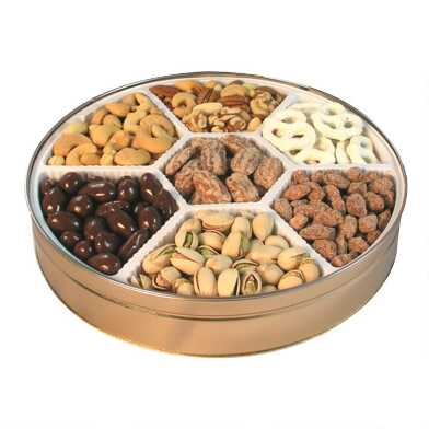 Royal Gold Nut Mix Gift Tin