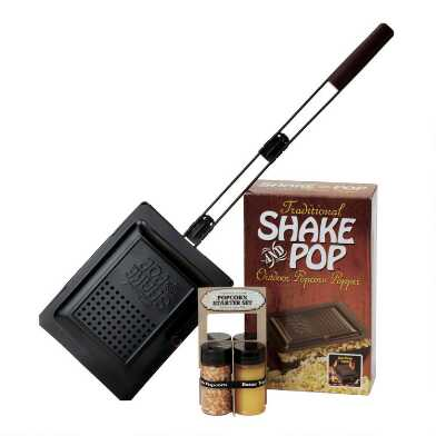Wabash Valley Farms Shake and Pop Outdoor Popcorn Gift Set