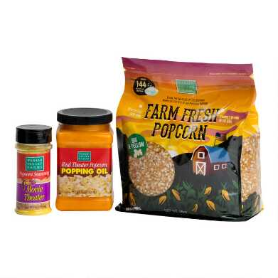 Wabash Valley Farms Real Theater Popcorn Gift Set