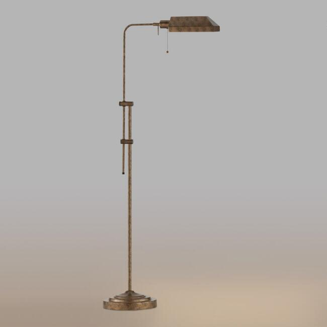 Chemist's Floor Lamp, Rust