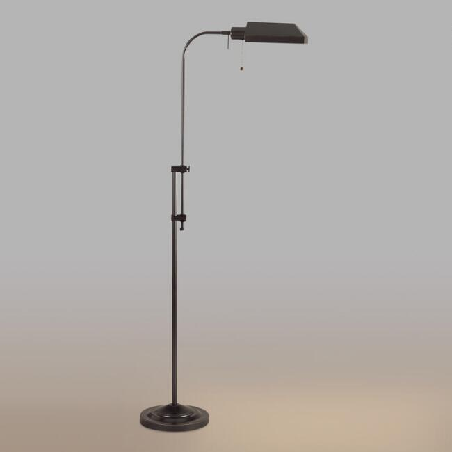 Chemist's Floor Lamp, Dark Bronze