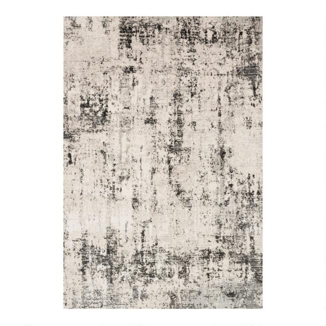 Gray Abstract Alchemy Area Rug