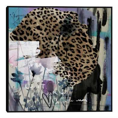 Turban Beauty By Nikki Chu Framed Canvas Wall Art