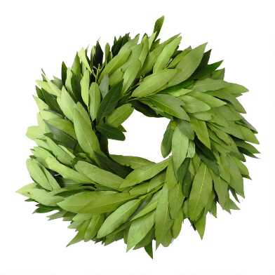 Fresh Bay Leaf Wreath