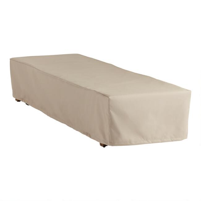 Zaragoza Outdoor Chaise Lounge Cover