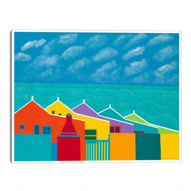 Aruba Fantasy by Synthia SAINT JAMES Framed Canvas Wall Art