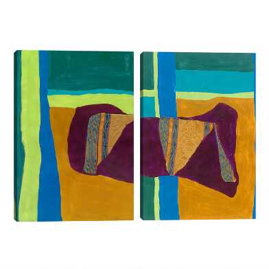 Tapestry by Dan Houston Canvas Wall Art 2 Piece