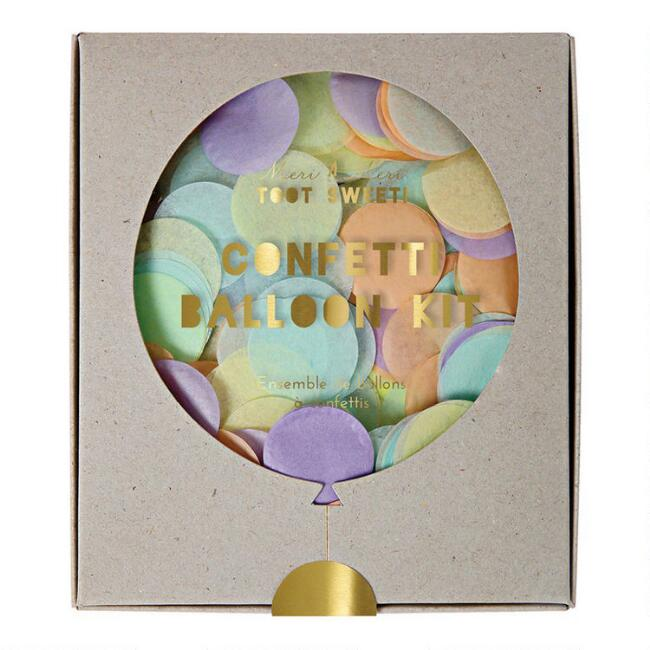 Meri Meri Pastel Confetti Balloon Kit 8 Pack