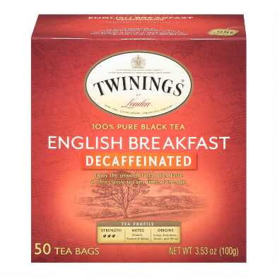 Twinings Decaf English Breakfast Tea 50 Count