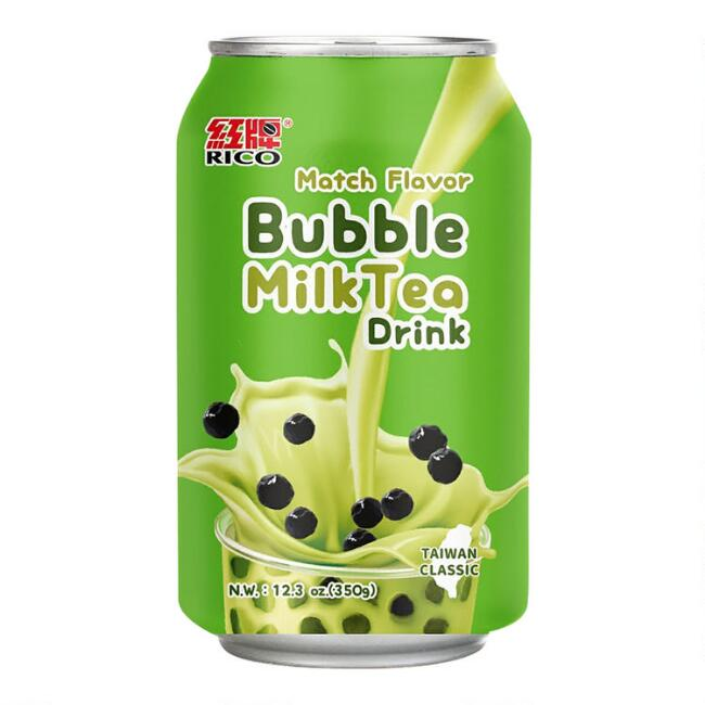 Rico Bubble Matcha Tea Drink