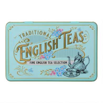 New English Teas Vintage English Tea Tin 72 Count