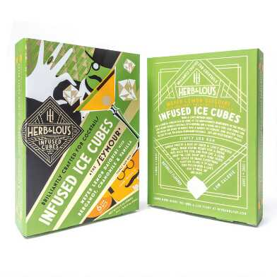 Herb And Lou's The Seymour Infused Daquiri Ice Cubes 6 Count