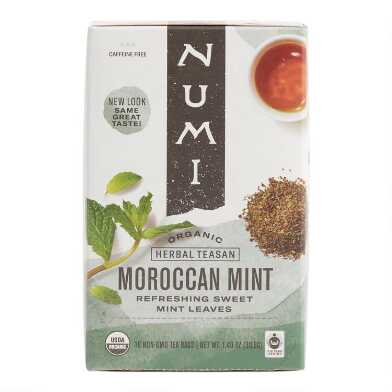 Numi Organic Moroccan Mint Tea 18 Count