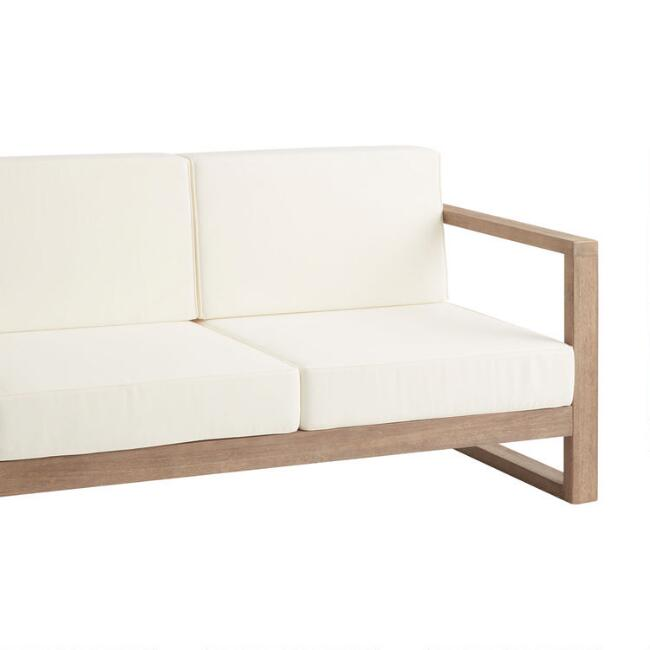 Segovia Outdoor Bench Replacement Cushions 4 Piece Set