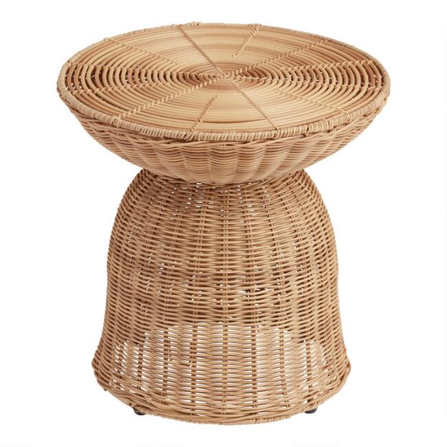 All Weather Wicker Raelyn Outdoor Accent Table