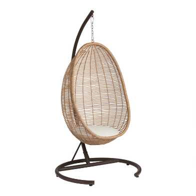 All Weather Wicker Maximus Outdoor Hanging Egg Chair