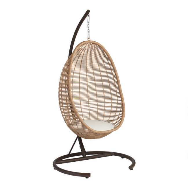 All Weather Wicker Maximus Outdoor, Hanging Egg Chair Outdoor No Stand