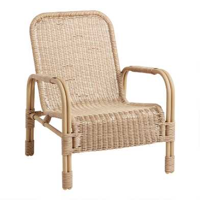 Natural Woven Wicker Antalya Outdoor Chair