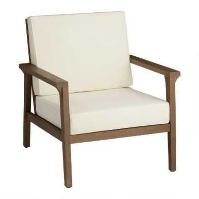 Natural Eucalyptus Zaragoza Outdoor Chair