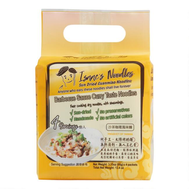 Isaac's Noodle BBQ Curry Noodles 4 Pack