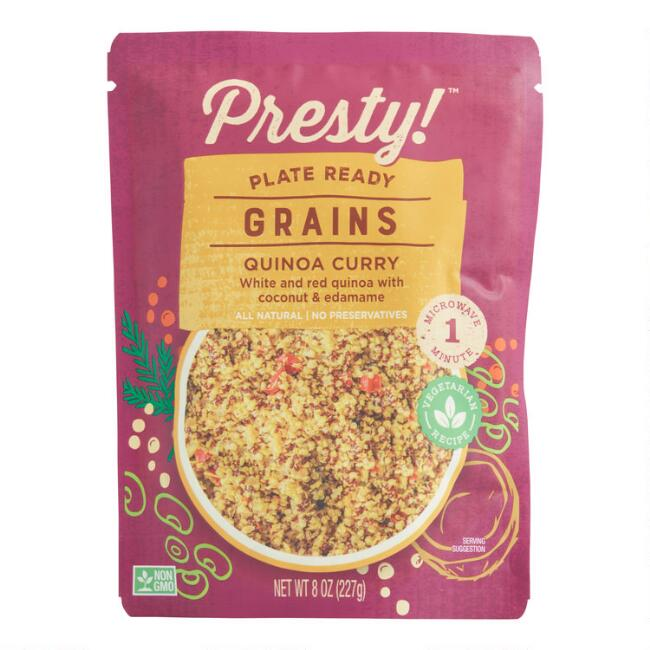 Presty Red Quinoa Curry Pouch Set of 2