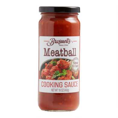 Braswell's Meatball Slow Cooker Cooking Sauce